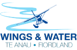 Wings and Water scenic flights logo